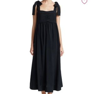 NWT See by Chloe tie-shoulder maxi dress